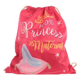 Drawstring rugzak prinses