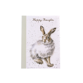 "Wrendale A6 Paperback Notebook ""Mountain Hare"""