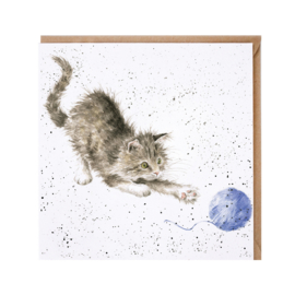 "Wrendale greeting card - ""Kitty"" - kat"