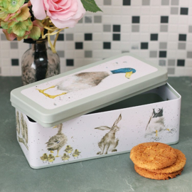 Wrendale Cracker Tin - duck
