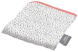 Opvouwbare shopper - dalmatian dots