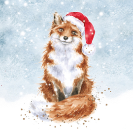 "Wrendale Christmas Card Box Set ""Festive Fox"""
