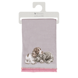 Wrendale winter scarf - A Dog's Life - hond