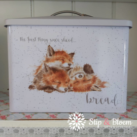 Wrendale Bread Bin - fox