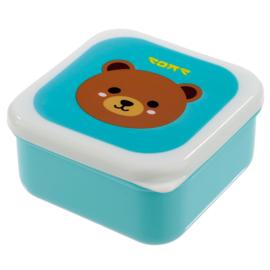 Lunchboxen set - kawaii diertjes
