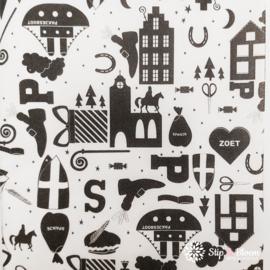 Vloeipapier - Sinterklaas - per 5 vellen