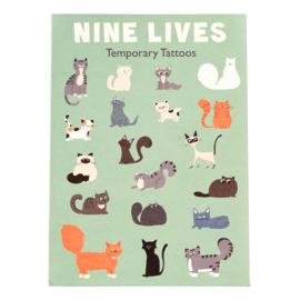 Plak tattoos - Nine Lives