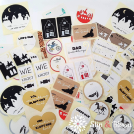Sint stickers