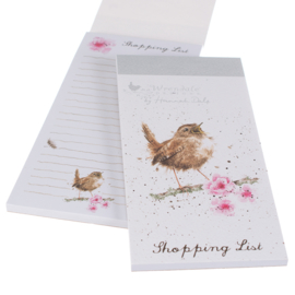 "Wrendale Magnetic Shopping Pad ""Wren"" - winterkoninkje"
