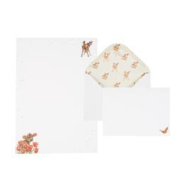 """Wrendale Letter Writing Set """"Fluttery Fabulous"""" - koe"""