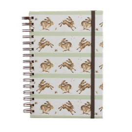 "Wrendale A5 Notebook ""Leaping Hare"""