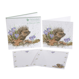 "Wrendale Notecard Pack ""New Beginnings"" - egel"
