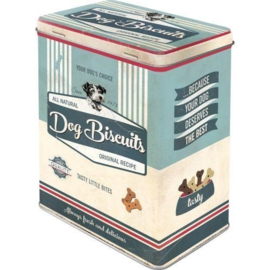Storage tin large - Dog Biscuits