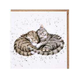 "Wrendale greeting card - ""Sweet Dreams"""