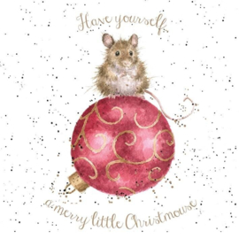 """Wrendale Boxed Christmas Cards  """"Christmouse"""""""