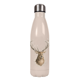 """Wrendale 500ml thermosfles """"Portrait of a Stag"""""""