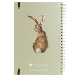 """Wrendale A4 Notebook """"The Hare and The Bee"""""""