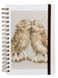 "Wrendale A5 Notebook ""Birds of a Feather"""