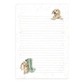 "Wrendale A5 Jotter Pad ""A Dog's Life"""
