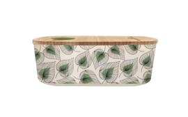 Bioloco plant lunchbox - Line art leaves