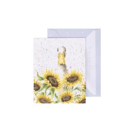 "Wrendale mini card ""Sunshine"" - eend"