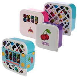 Lunchboxen set - game over