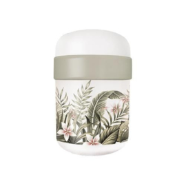 Bioloco plant lunchpot - Leaves with flowers