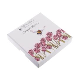 """Wrendale compactspiegel """"Flight of the Bumblebee"""" - hommel"""