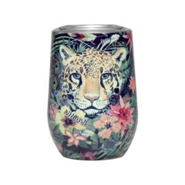 Bioloco rvs office cup - Jungle tiger