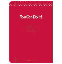 Notebook / Bullet Journal - We Can Do It!