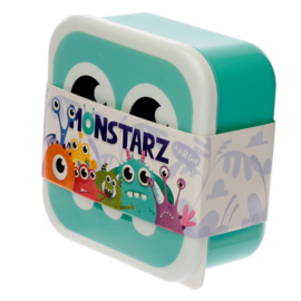 Lunchboxen set - monsters