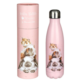 """Wrendale 500ml thermosfles """"Piggy in the Middle"""""""