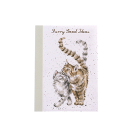 "Wrendale A6 Paperback Notebook ""Cats"""