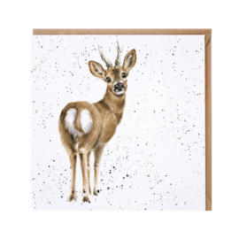 "Wrendale greeting card - ""The Roe Deer"""