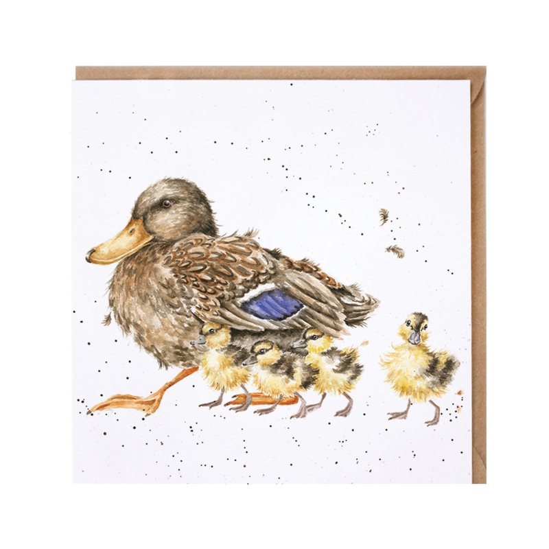 """Wrendale greeting card - """"Room for a Small One"""" - eend"""