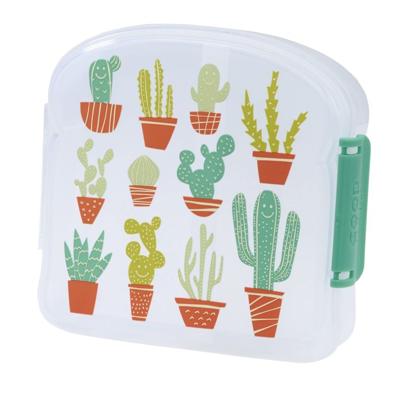 Sugarbooger sandwich box - happy cactus
