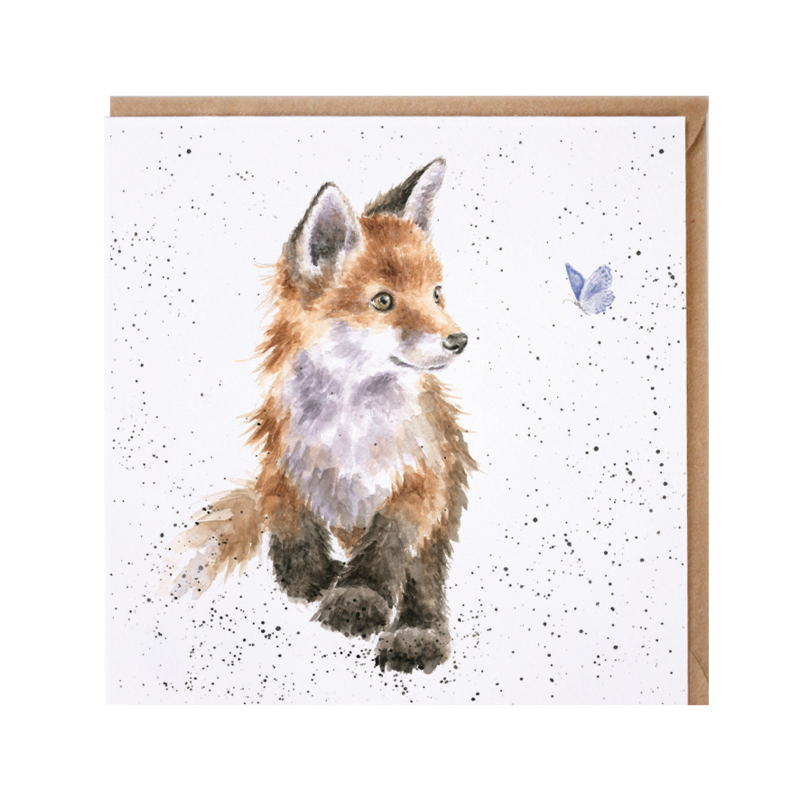 """Wrendale greeting card - """"Born to be Wild"""" - vos"""