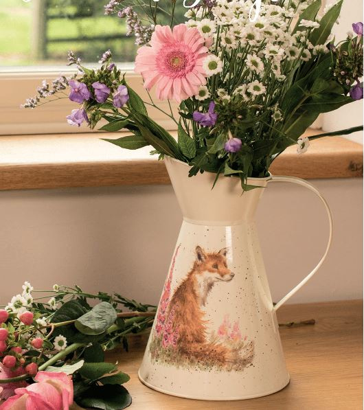 Wrendale Flower Jug - foxgloves
