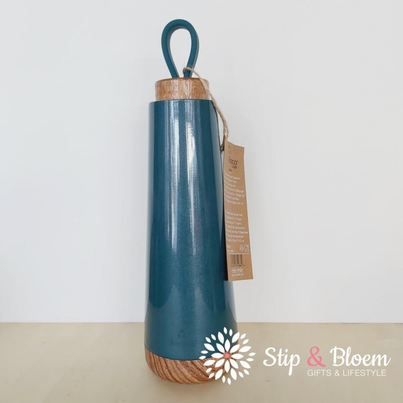 Bioloco Loop thermosfles - 500 ml - petrol