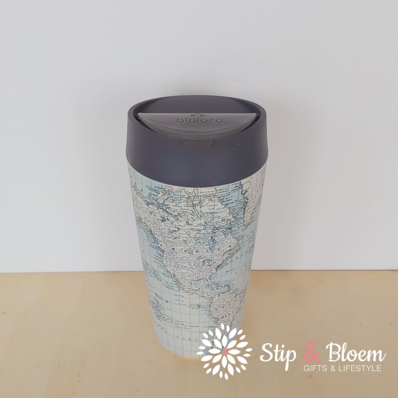 Bioloco deluxe travelcup - Antique map