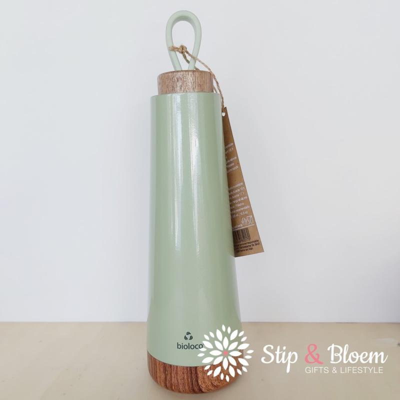 Bioloco Loop thermosfles - 500 ml - light green