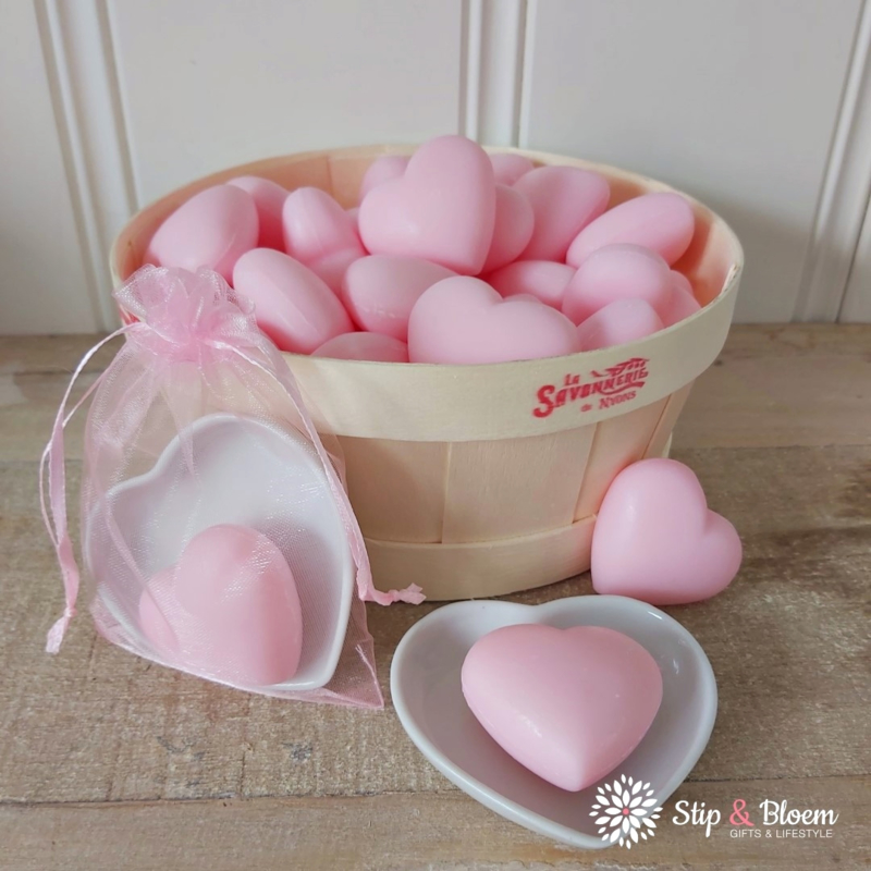 Hart zeepje - rozen