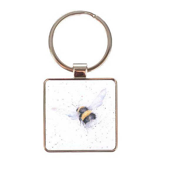 """Wrendale sleutelhanger """"Flight of the Bumblebee"""" - hommel"""