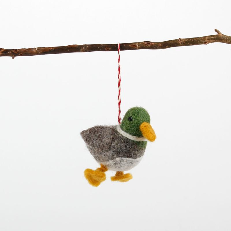 Vilten hanger - eend