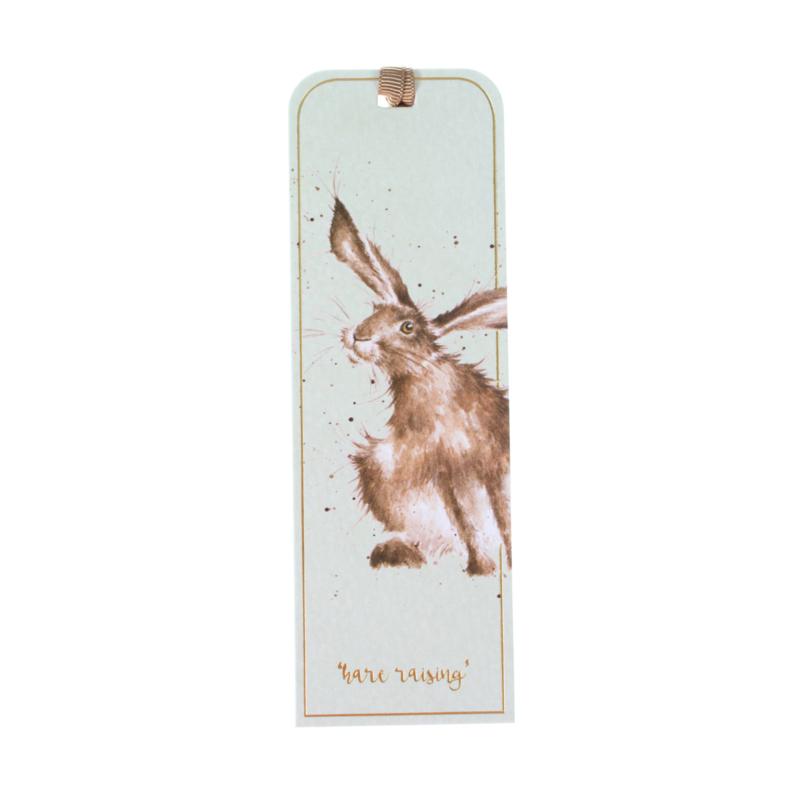 """Wrendale boekenlegger """"Hare"""" - haas"""