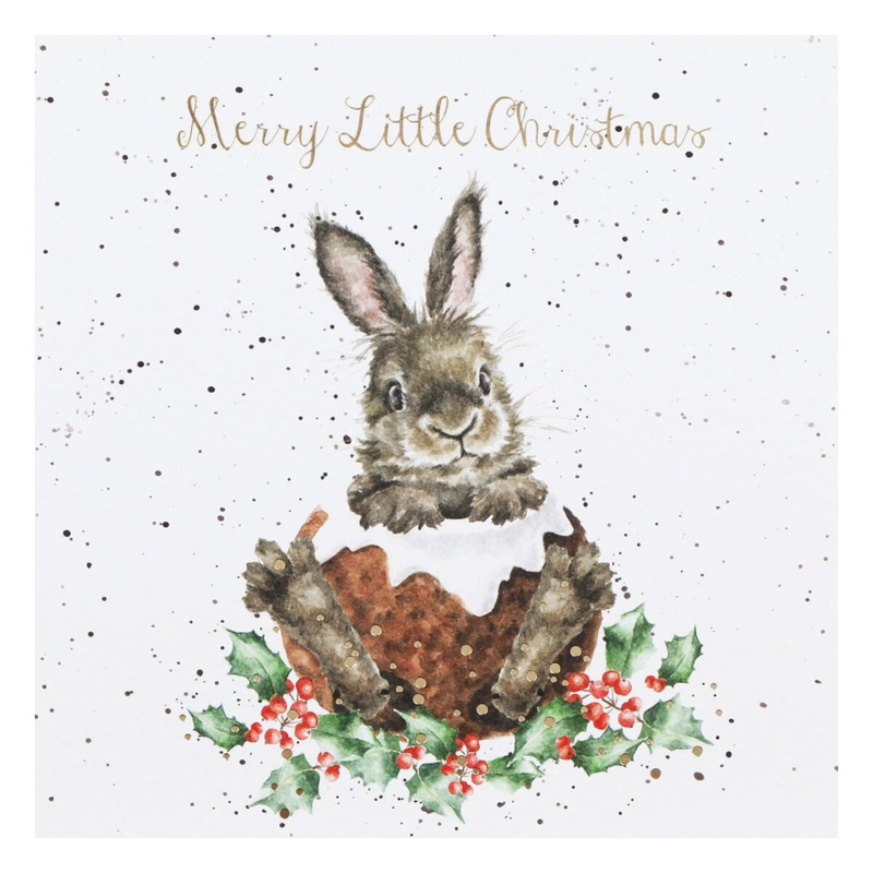 """Wrendale Boxed Christmas Cards  """"Merry Little Christmas"""""""