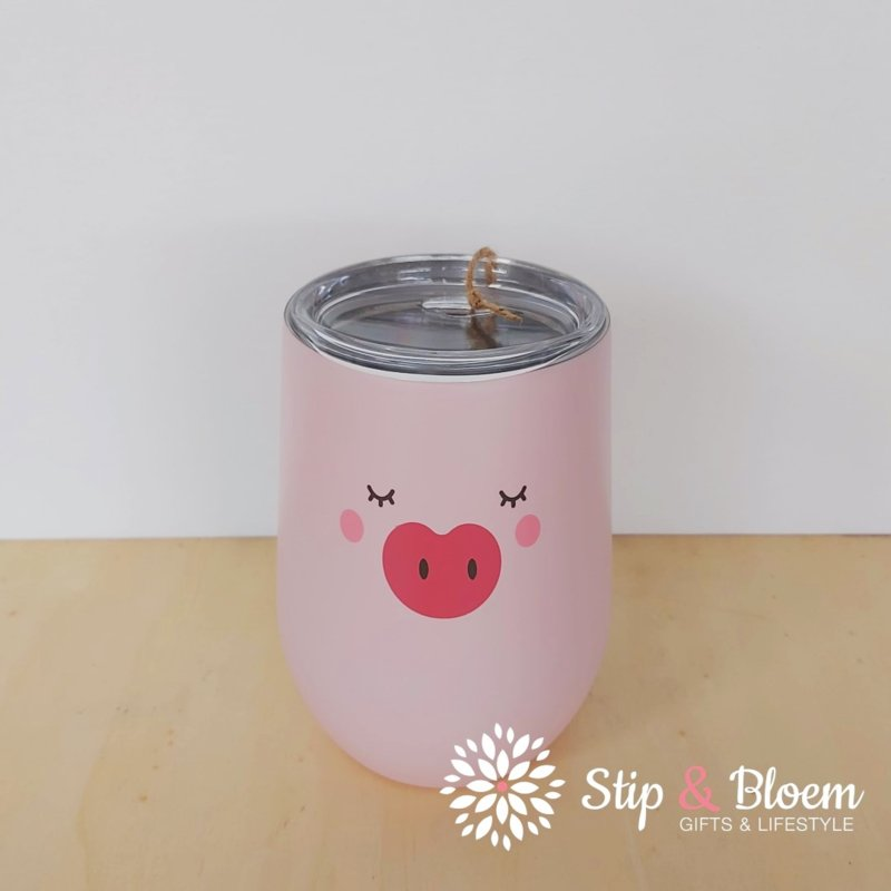 Bioloco rvs office cup - Piggy