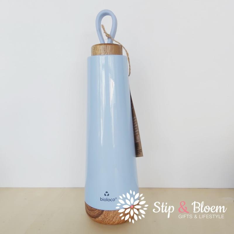 Bioloco Loop thermosfles - 500 ml - sky blue