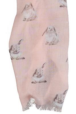 "Wrendale sjaal ""Some Bunny"""