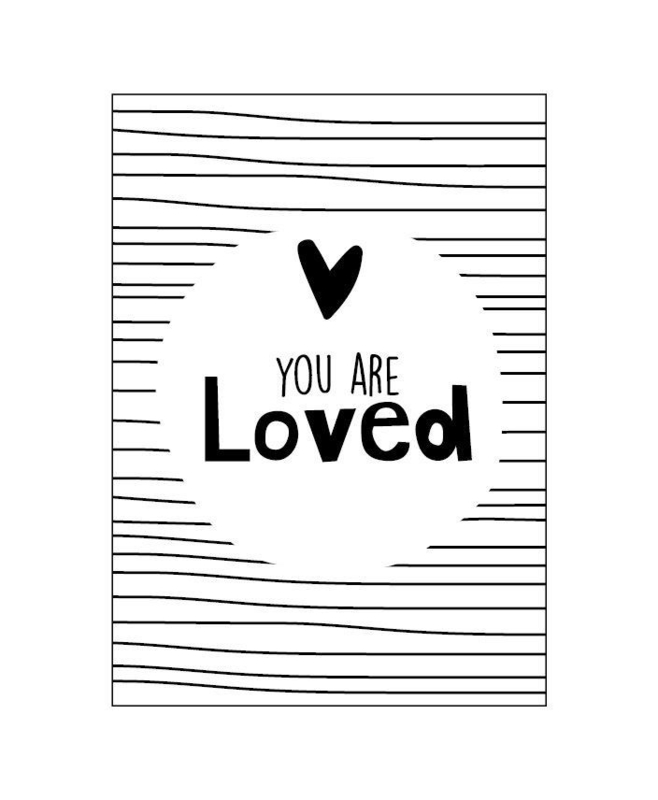 Ansichtkaart  - You are loved